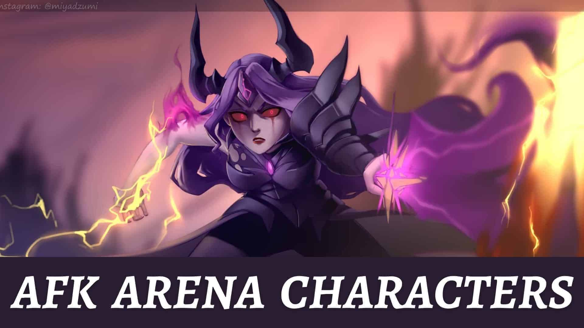afk arena characters