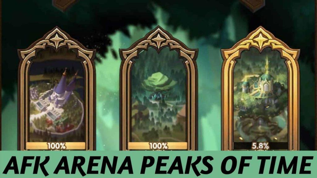 afk arena peaks of time