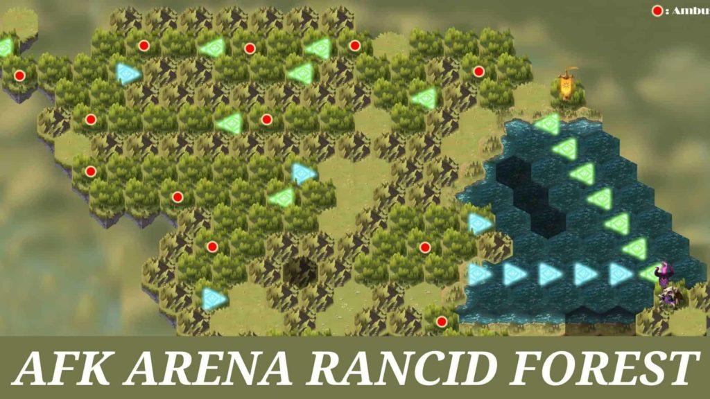 afk arena rancid forest