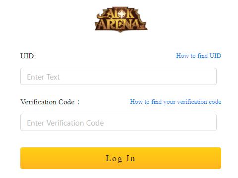 afk arena redeem codes